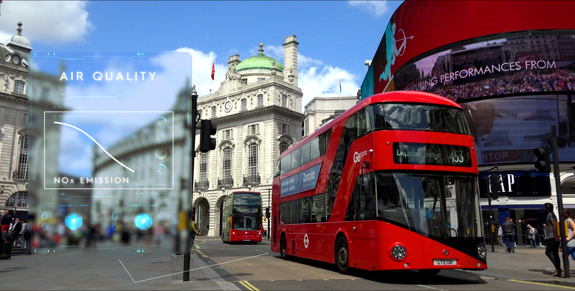 Double bus Londres - Amminex ASDS