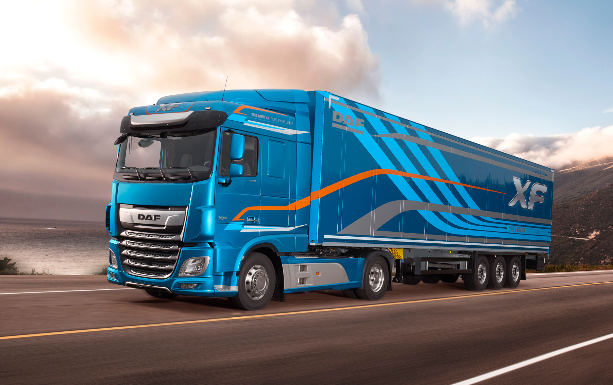 Commercial Vehicles - DAF XF