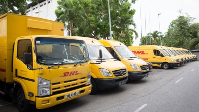 DHL véhicules utilitaires