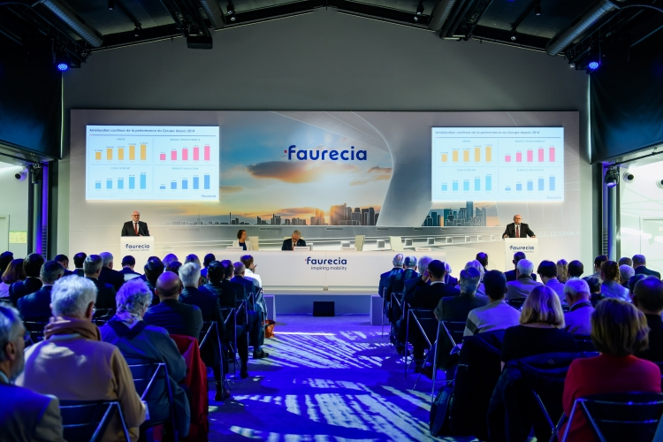Faurecia, a global leader in automotive technology