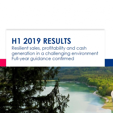 2019 Half year results - presentation
