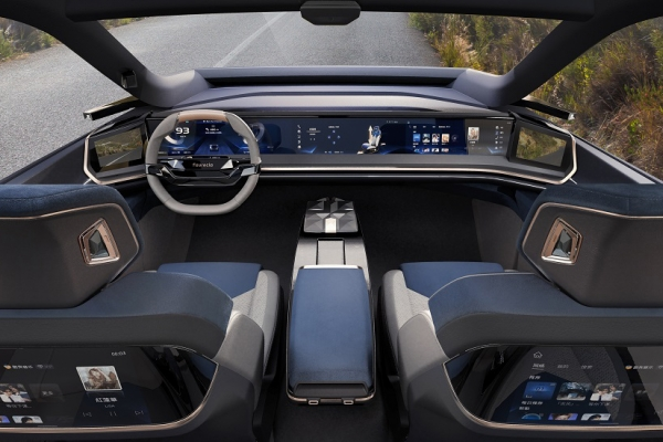 Faurecia Intelligent & Immersive Cockpit