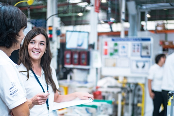 Women play an important role at Faurecia
